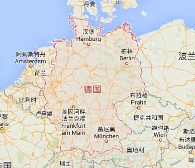 德国|德国首都|德国热门城市地图_中国签证资讯网