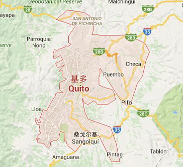 厄瓜多尔|厄瓜多尔首都|厄瓜多尔热门城市地图