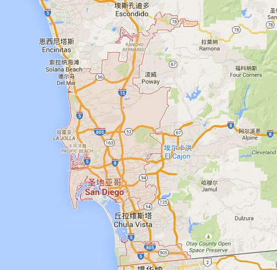 圣地亚哥地图_圣地亚哥地图中文版