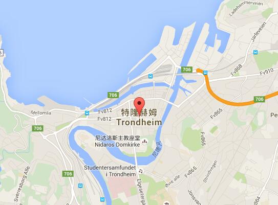 挪威地图 挪威首都地图 挪威热门城市地图