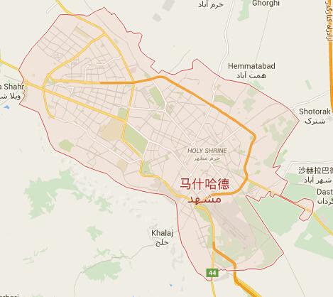 伊朗地图|伊朗首都地图|伊朗热门城市地图